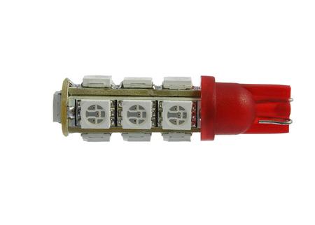 Led auto lamp isolated on the white