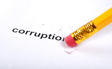filing document: pencil with eraser kills inscription corruption