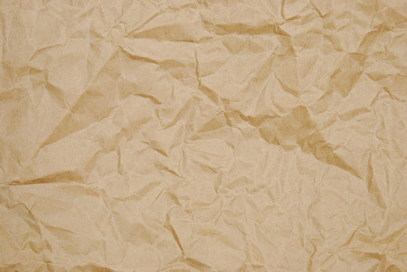 old letters: background crumpled sheet of paper Stock Photo