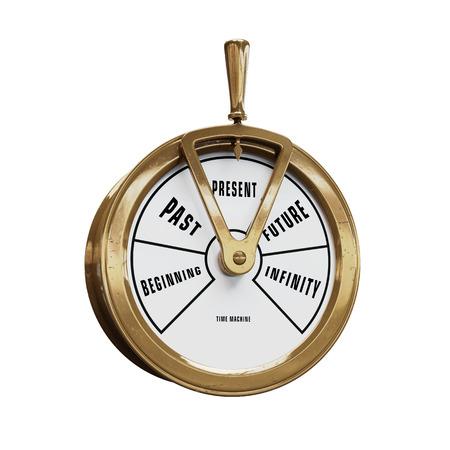 Schiff Telegraf Zeitmaschine zur Gegenwart