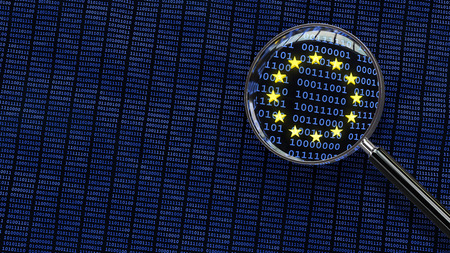 Looking at European Union GDPR bits and bytes through magnifying glass