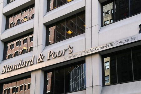 office politics: The headquarter of Standard and Poors in New York