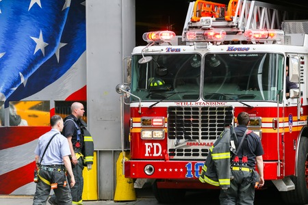 city center: Ten house fire station in NY near 911 memorial