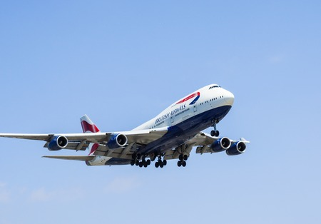 boeing 747: British Airways Boeing 747 Editoriali