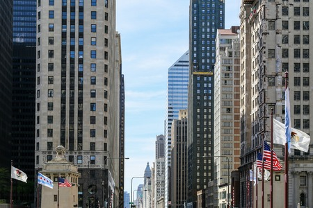 mag: Michigan Avenue in Chicago