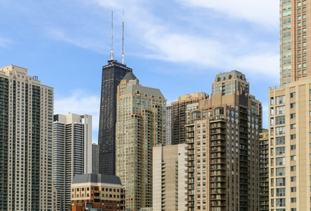 chicago: A part of the Chicago Skyline Editorial