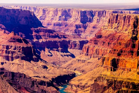 Grand Canyon in Arizona. Stock Photo