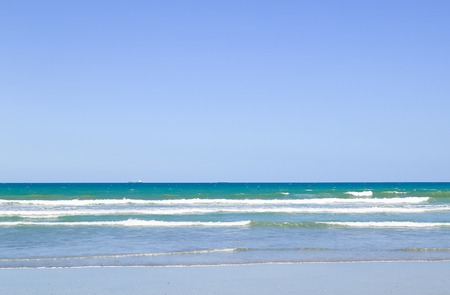 cocoa beach: The surge of waves of the Atlantic Ocean in Cocoa Beach in Florida. Stock Photo