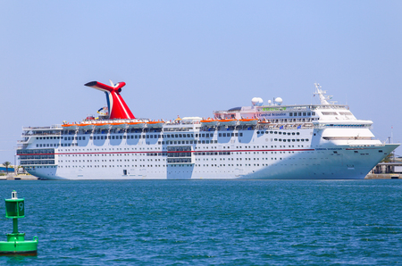 cocoa beach: The cruise ship Carnival Sensation landed in Port Canaveral.