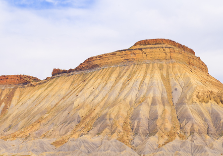 Part of the desert mountains Book Cliffs near Grand Junction in Colorado. Reklamní fotografie