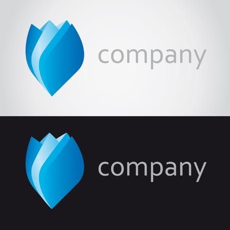 logo rose Stock Vector - 13435692