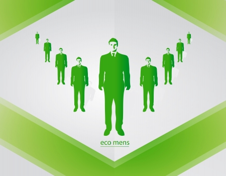 man green business Stock Vector - 18502547
