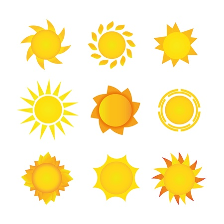 Sun set Stock Vector - 18502548