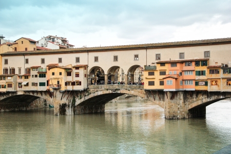 florence italy: Ponte Vecchio  HDR , Florence, Italy
