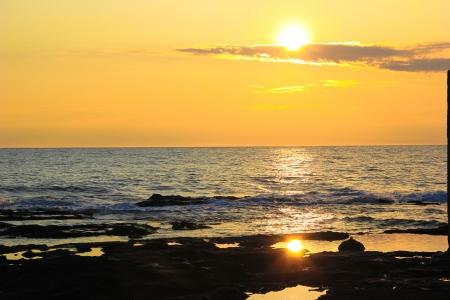 viareggio: Sunset Stock Photo