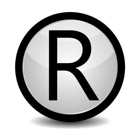 r: Registered Trademark - icon