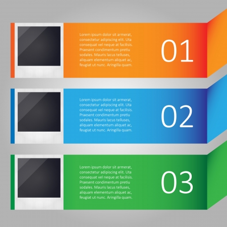 insert: Modern infographic with images