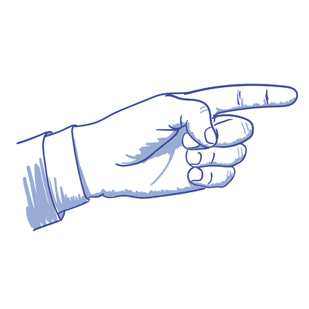 pointing finger pointing: Hand pointing hand with pointing finger, pointing
