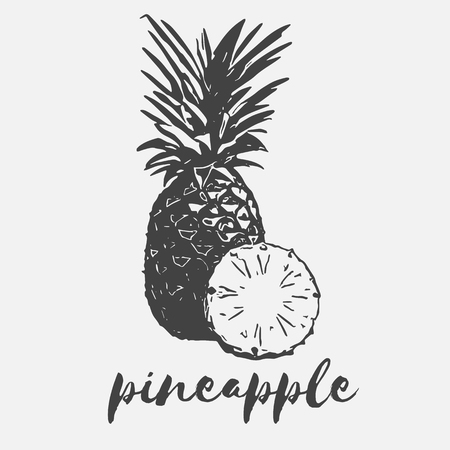 wholesome: pineapple exotic fruit half organic and wholesome vegan
