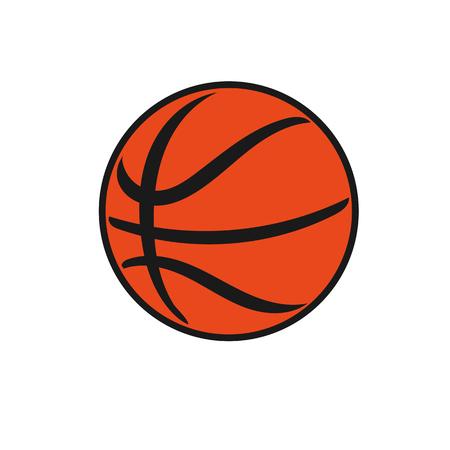 Illustration classic basketball Vektorové ilustrace