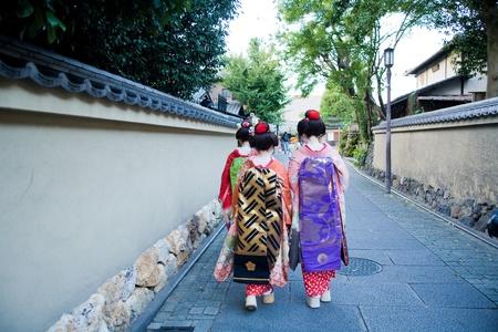 maiko kyoto Stock Photo