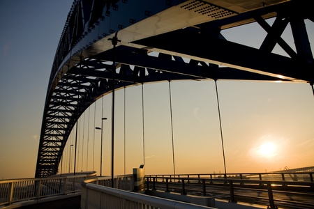 An iron bridge 写真素材