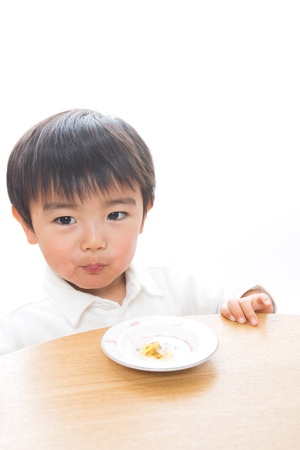 The child who eats food Stock Photo - 13151874