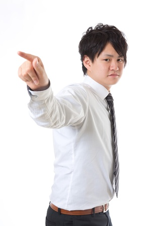 Young businessman with the confidence Stock Photo - 13398591