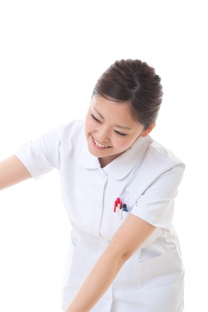Young nurse to care for photo