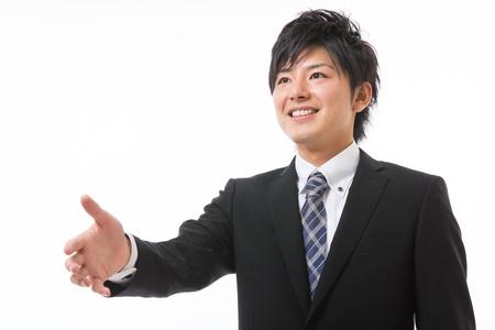 faithfulness: The businessman who shakes hands
