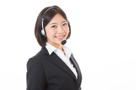 The woman who works as an operator