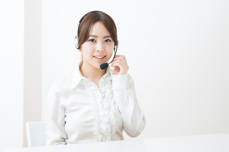 young female customer service operator Stock Photo - 19020322