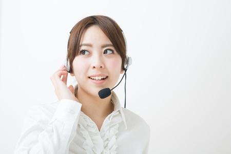 young female customer service operator Stock Photo - 19020661