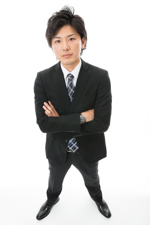 Young businessman with the confidence photo