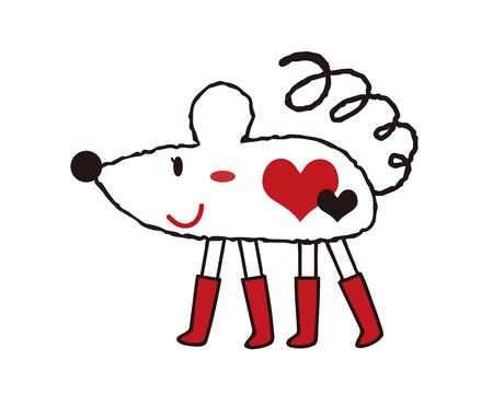 Mouse anime Reklamní fotografie - 120080083