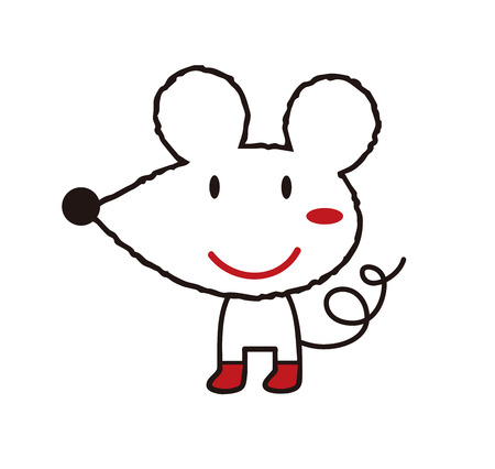 Mouse anime Reklamní fotografie - 120080082