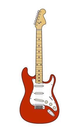 Electric guitar 写真素材