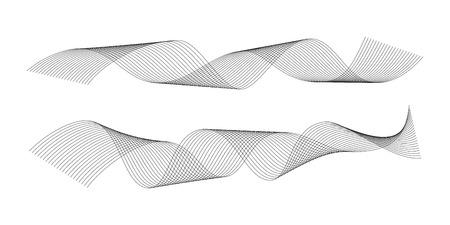 Background material: spiral pattern Illustration