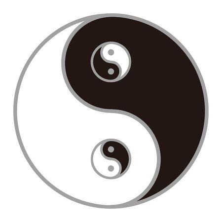 Taitai Chart Thick Image Vector Illustration Ilustrace
