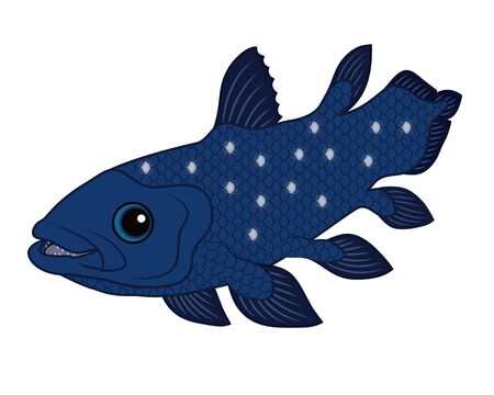 Sheila Cans Deep Sea Fish Character Illustration Clip Art Reklamní fotografie