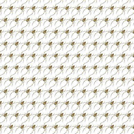 Spider Pattern Background Stock Image Ilustrace