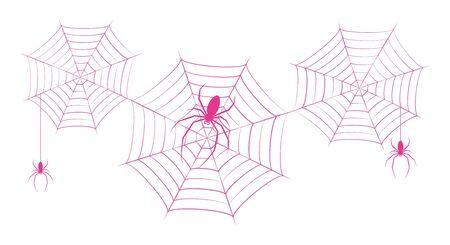 Spider's Nest Vector Illustration Clip Art