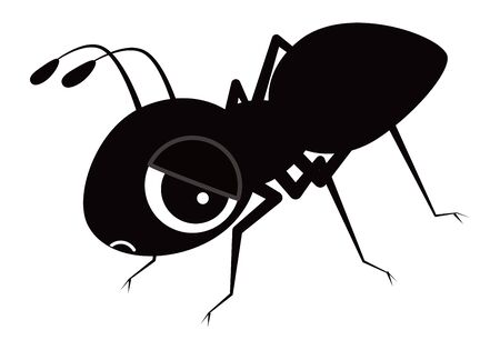 ant Character Vector Illustration 向量圖像
