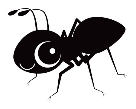 ant Character Vector Illustration  イラスト・ベクター素材