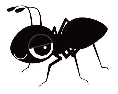 ant Character Vector Illustration Illustration