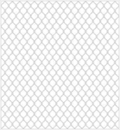 Wire mesh fence background material Vector illustration