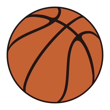 Basketball Ball Vector Illustration
