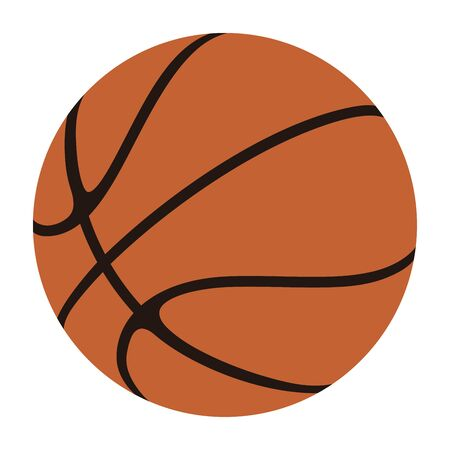 Basketball Ball Vector Illustration
