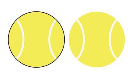 Tennis Ball Illustration Clip Art