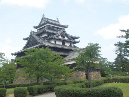 Matsue Castle Rainy Season
